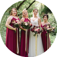 Shop Red Bridesmaid Dresses Montreal